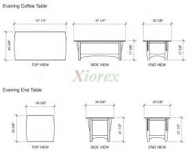 average height of coffee table halflifetr info