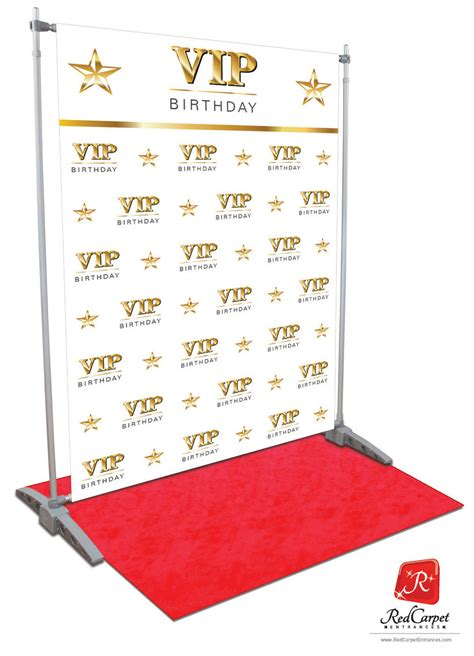 design red carpet backdrop vip birthday backdrop white 5x8 red carpet runner