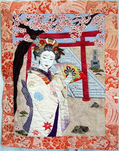Silk Bordir Inc Obi quilt inspiration japanese quilts
