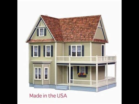 build your own doll house kits wooden dollhouse plans woodworking projects plans