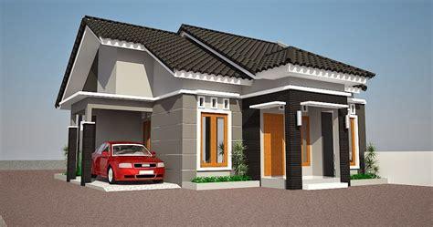 gambar contoh desain rumah minimalis type   lantai gambar