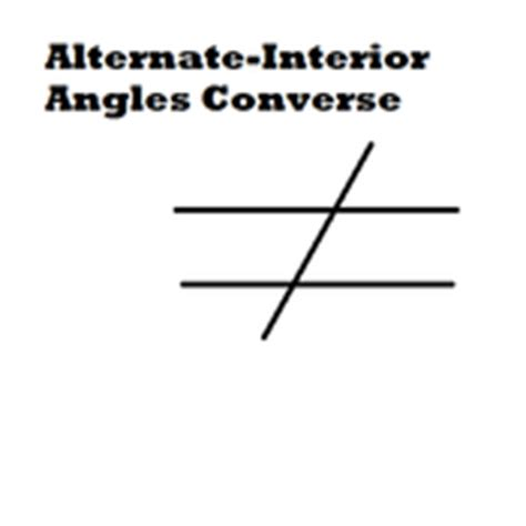 alternate interior angles converse tutorials quizzes and