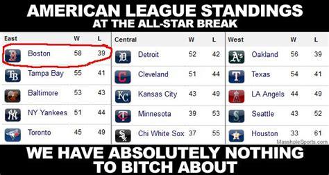 Eastern League Standings mlb standings major league baseball al amp nl teams