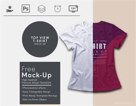 Request Design Your Tshirt top view t shirt mock up designertale