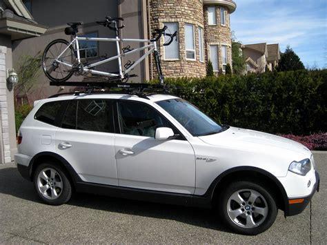 bike rack for bmw x3 x3 with a bike rack xoutpost com