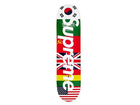 supreme skateboarding supreme flags skateboard ug shaft