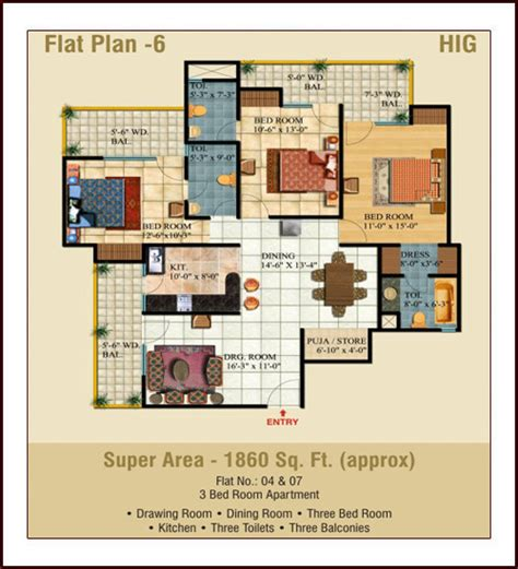 3 bedroom flat architectural plan 3 bedroom flat plan drawing universalcouncil info