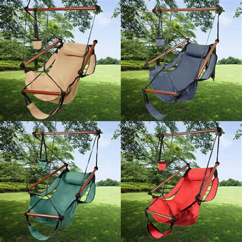 hammock swing chair outdoor indoor hammock hanging chair air deluxe swing