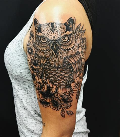 best owl tattoos 95 best photos of owl tattoos signs of wisdom 2018