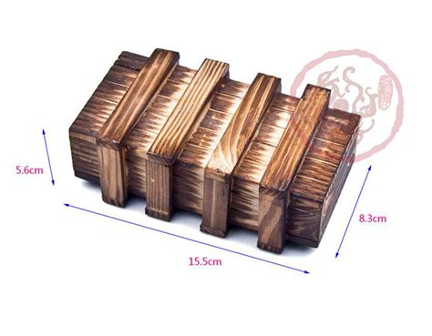 Kaos 3d Magic Dawer 3d magic compartment wooden puzzle box with secret drawer brain teaser gift jpg