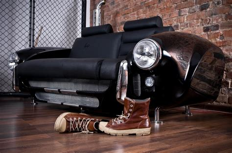 sofa auto luxury furniture collection made by real car parts decoholic