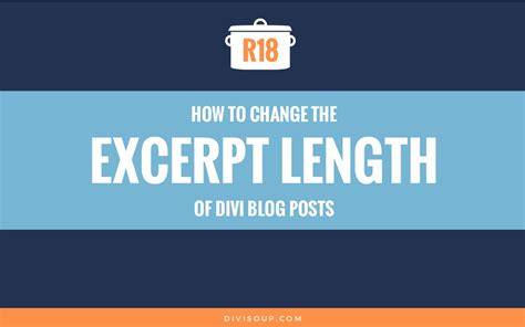 divi theme blog excerpt length how to chnage the excerpt length of divi blog posts