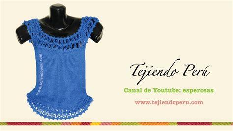 blusas de orquilla blusa tratando de tejer prendas tejidas c 243 mo tejer una blusa en dos agujas con detalles de hor