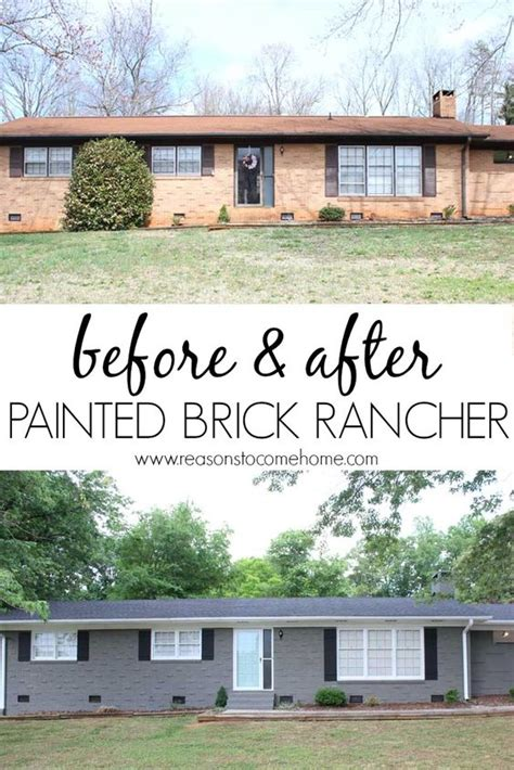 how to paint a brick wall exterior front doors get the and paint brick on