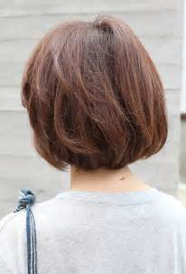 images of back of hairstyles back view short brown bob hairstyle hairstyles weekly