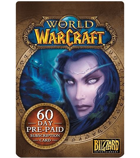 World Gift Card - world of warcraft game card 60 days us email delivery mygiftcardsupply
