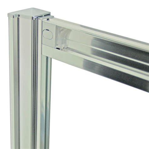 vetro doccia scorrevole box doccia porta fissa anta scorrevole h185 198 profilo in