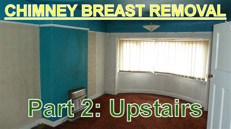 chimney breast in bedroom chimney breast removal part 2 upstairs bedroom s youtube