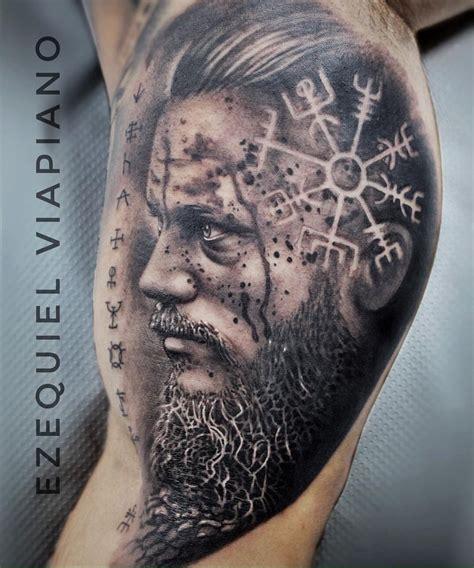 ragnar tattoo ezequiel viapiano ezeinktattoo