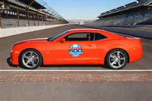 2010 chevy camaro ss ready to pace the indianapolis 500