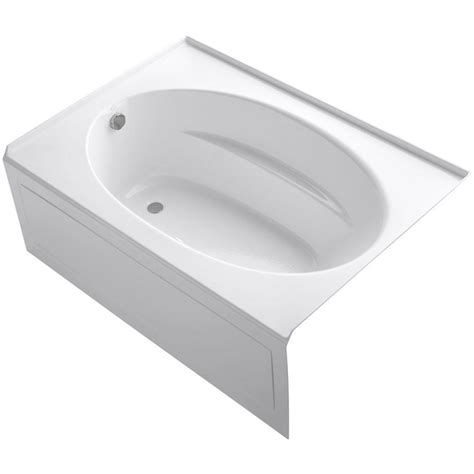 universal tubs 5 ft air bath tub in white