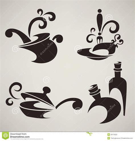 simboli piani cottura cottura dei simboli dell alimento e della strumentazione