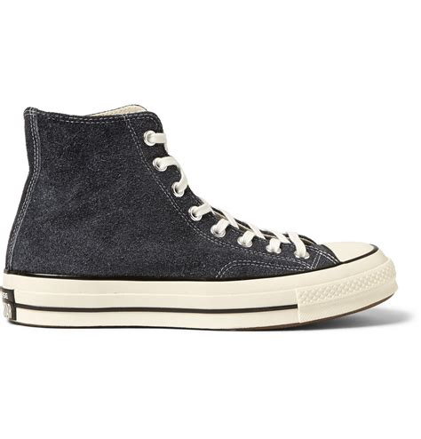 chuck sneakers converse 1970s chuck suede high top sneakers in
