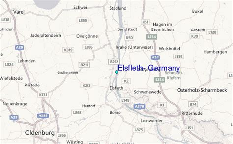 germany location map elsfleth germany tide station location guide