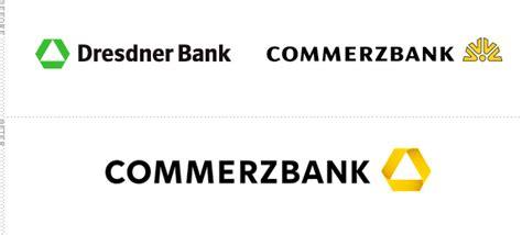 logo dresdner bank brand new commerzbank folds