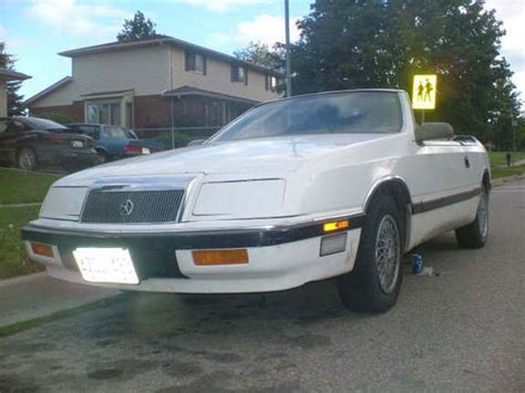 1988 Chrysler Lebaron by 88baron 1988 Chrysler Lebaron Specs Photos Modification