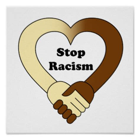 Love Blind Definition Racism Posters Zazzle