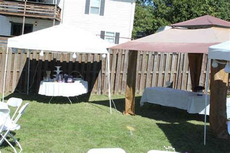 how to set up a backyard wedding backyard wedding outdoor tents set up vows pinterest