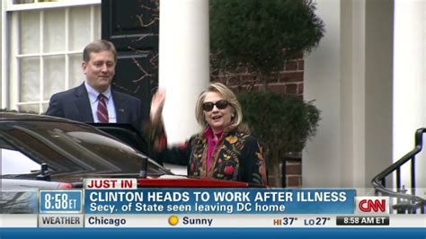 where does hillary clinton work hillary clinton returns to work at state department cnn