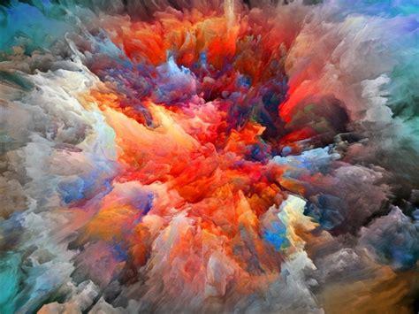 explosion  colors mac wallpaper  allmacwallpaper