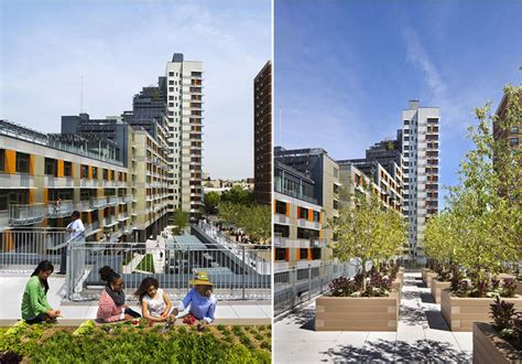 nyc affordable housing bronx new york innovative design of via verde s affordable housing development