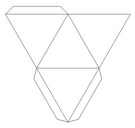 foldable pyramid template diy how to do bunny boxes oh my in