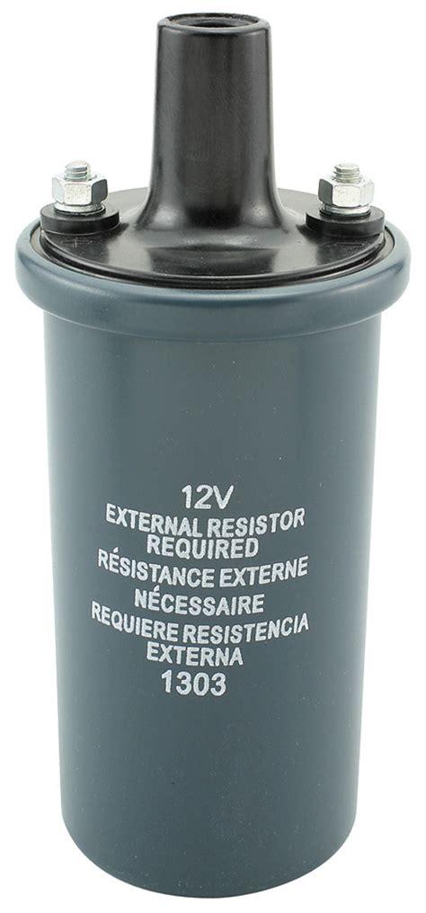 ignition coil external resistor 1961 74 cutlass ignition coil w o hei 1 3 ohms w external ballast resistor for years 1961 1962