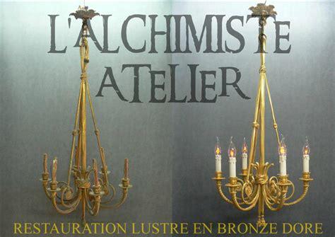 Nettoyer Un Lustre En Bronze by Restauration Et Nettoyage D Un Lustre En Bronze Dor 233 L