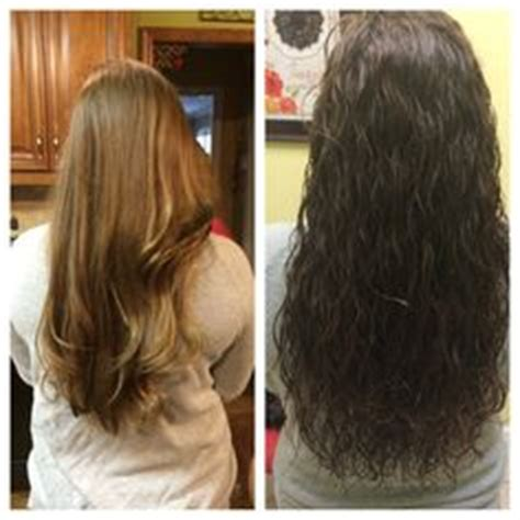 pre and post perm wave before and after body wave perm want slash need