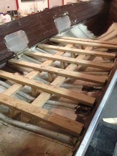 making an aluminum boat installing wood floor in aluminum boat http