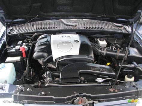 Kia Sportage Motor 2001 Kia Sportage Ex 4x4 2 0 Liter Dohc 16 Valve 4