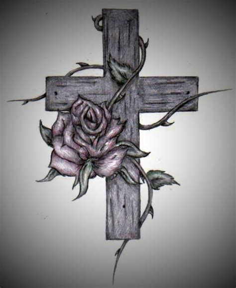 tattoo cross rose rose cross tattoo picture at checkoutmyink com