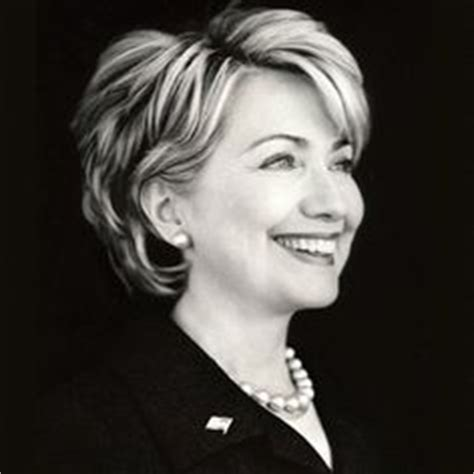 hillary clintons short bob cropped and stuled laura bush hair style haircuts for mom pinterest