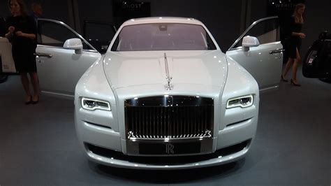 rolls royce ghost interior 2016 2016 rolls royce ghost series ii exterior and interior