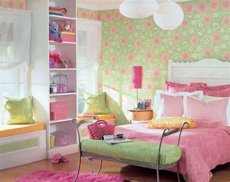 girls bedroom wallpaper ideas غرف للبنات على الموضة