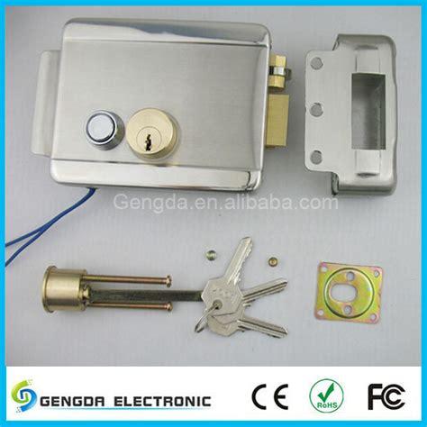 Electric Garage Door Lock by Security Electric Garage Door Lock With Access