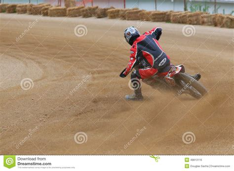z racing motocross track racing bike stock image cartoondealer com 6864223