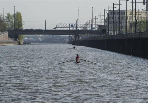 roeien kanaal brussel zeilen en roeien in brussel canal brussels