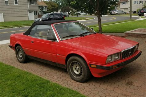 1987 Maserati Biturbo For Sale by Barn Find With Mud 1987 Maserati Biturbo Spyder