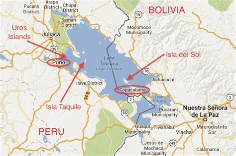 lake titicaca map guide to lake titicaca indefinite adventure